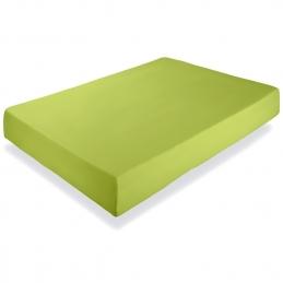 Cearceaf de pat Renforce Lime