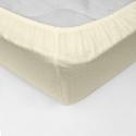 Cearceaf pat cu elastic Crepe Vanilla