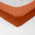 Cearceaf pat cu elastic Crepe Pumpkin