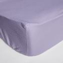 Cearceaf pat cu elastic Crepe Lila