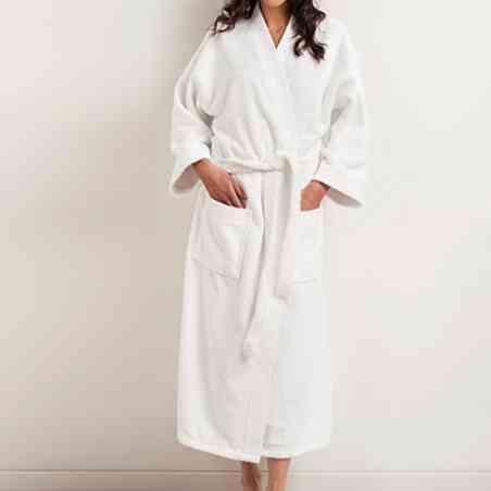 Halate de baie Frottier cu guler Kimono