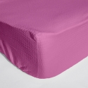Cearceaf pat cu elastic Crepe Rosebloom