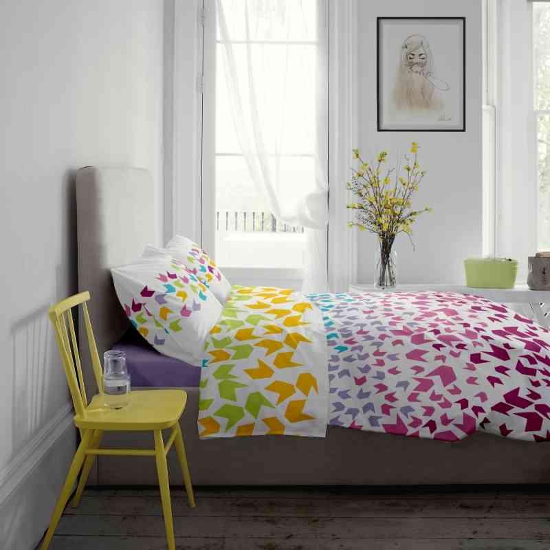 Lenjerie pat Renforce desen Loving Matisse v.1 Lila