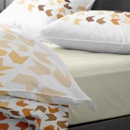 Lenjerie pat Renforce model Loving Matisse v.2+Vanilla