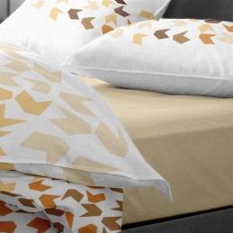 Lenjerie pat Renforce model Loving Matisse v.2+Honey Peach