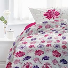 Lenjerie pat Cotton Rich desen Flores V.2