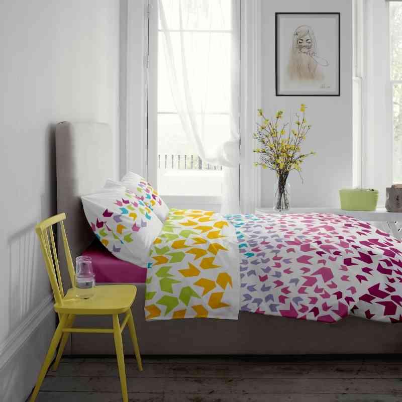 Lenjerie pat Renforce desen Loving Matisse v.1 Rosebloom