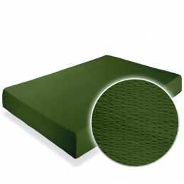 Cearceaf pat cu elastic Crepe Forest