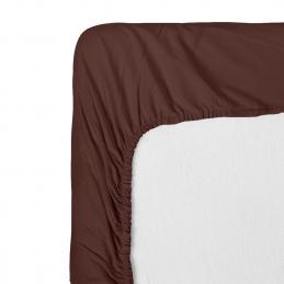 Cearceaf pat cu elastic Renforce Moka