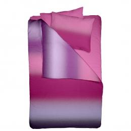 Lenjerie pat Crepe desen BOREAL V2+Unicolor
