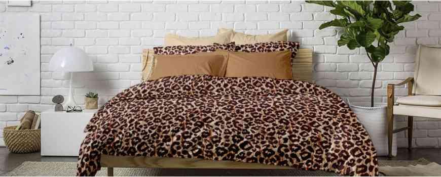 Lenjerii pat Dormisete din Flanel pufos,100% bumbac gros pentru iarna