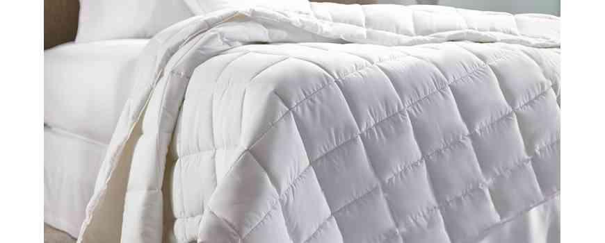 Pilote matlasate albe, imprimate, 100% bumbac antialergice, Dormisete